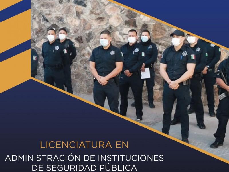 Impulsa Isspe oferta educativa para personal de seguridad pública