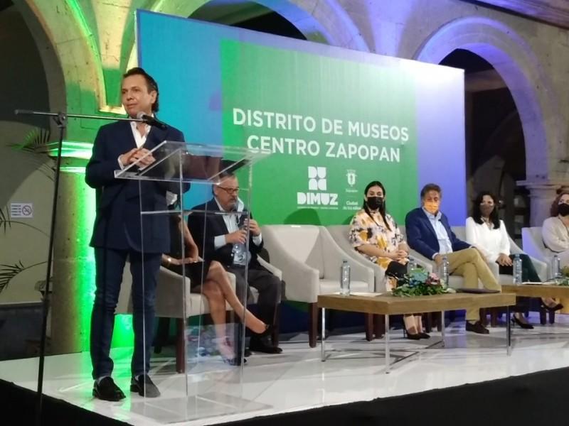 Impulsan el centro de Zapopan como un Distrito de Museos