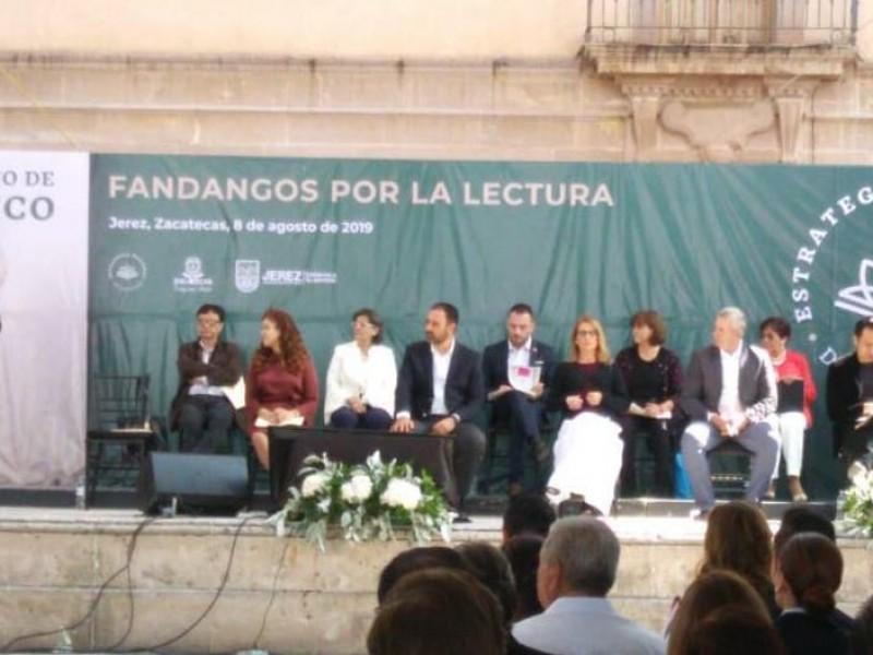 Impulsan Fandangos por la Lectura en Zacatecas