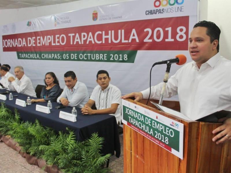 Impulsan Jornada laboral en Tapachula