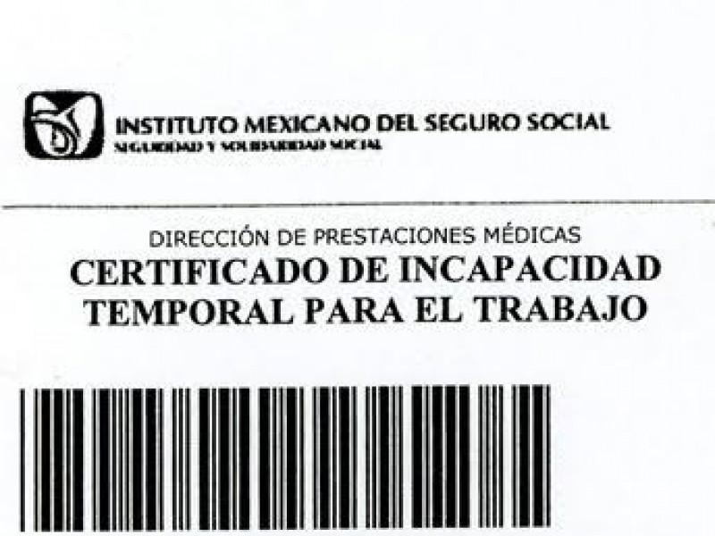 IMSS dará incapacidades especiales por Coronavirus