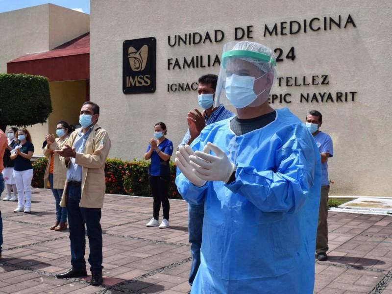 IMSS Nayarit con bajo indice de contagios entre personal