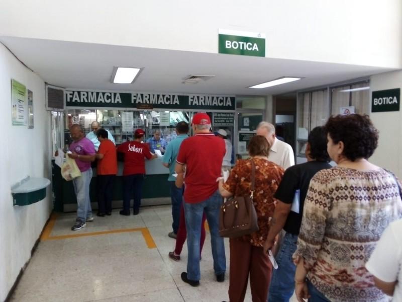 IMSS Villas al corriente con medicamentos