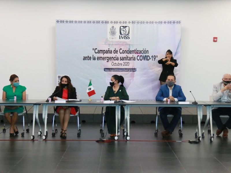 IMSS y Congreso local crean campaña de concientización