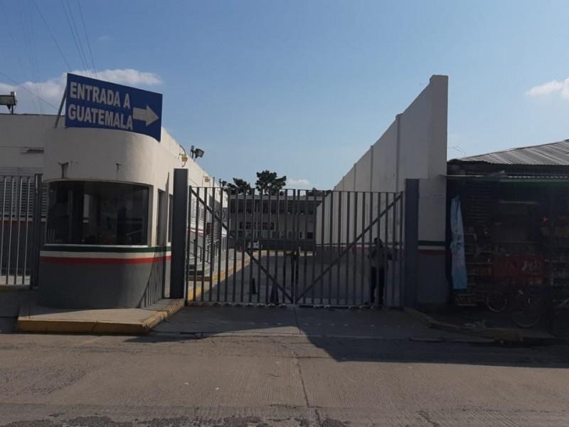 INAMI mantiene cerrada la frontera México-Guatemala