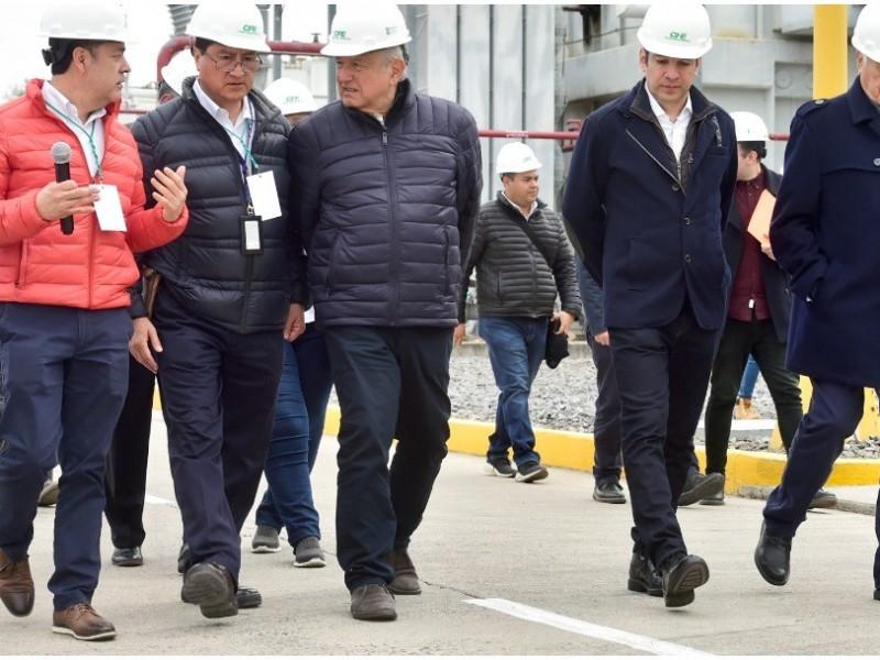 Inaugura AMLO Central Geotermoeléctrica en Michoacán