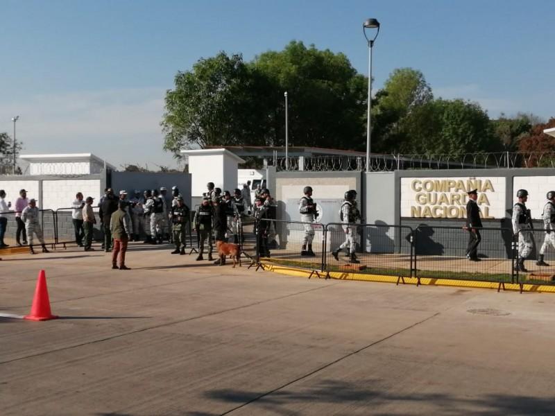 Inaugura AMLO cuarteles de Guardia Nacional en Tepatitlán y Lagos
