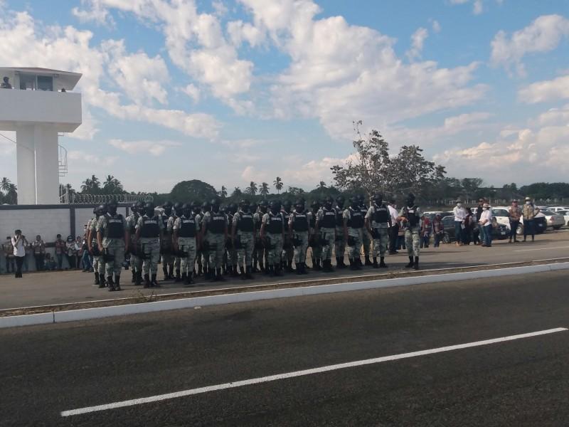 Inaugura AMLO primer cuartel de la Guardia Nacional en Colima