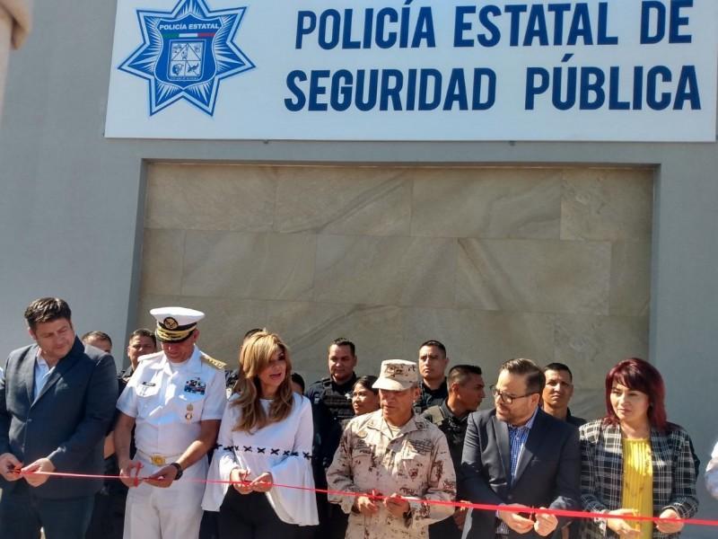 Inaugura CPA Base Operativa de Pesp
