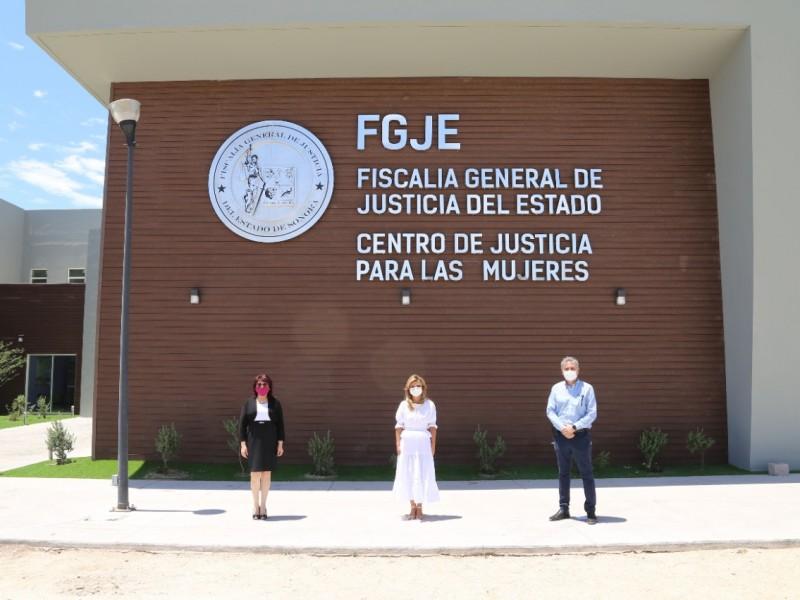 Inaugura Gobernadora nuevo Centro Justicia para las Mujeres