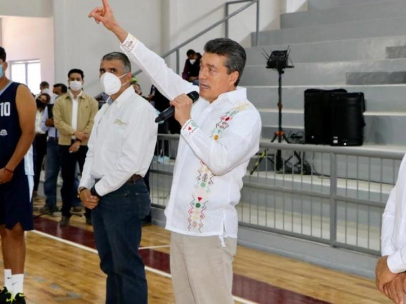 Inaugura REC Unidad Deportiva en Villa Corzo