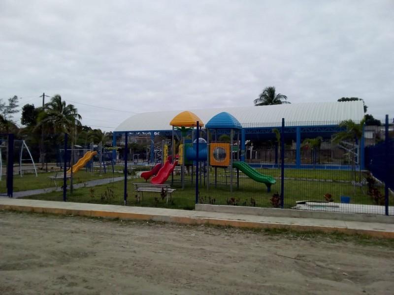Inauguración de parque Fausto Vega en próximos días:Alcalde