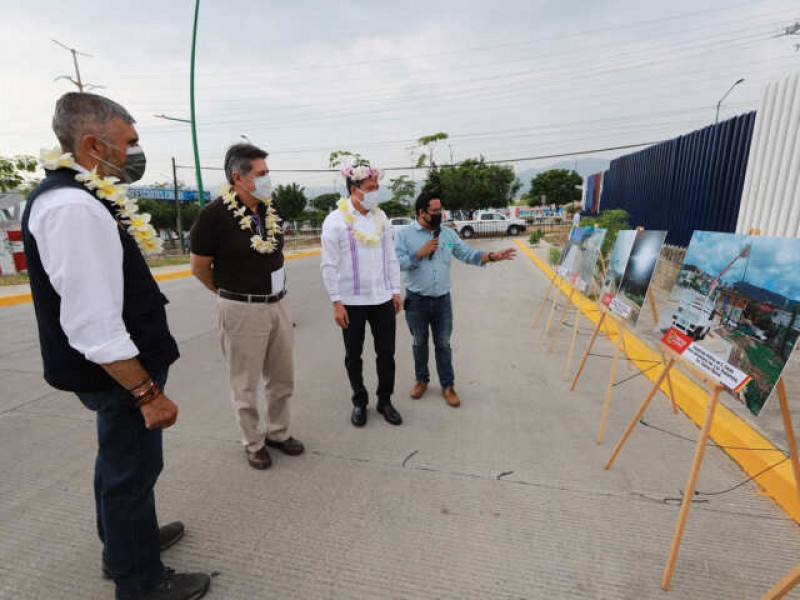 Inauguran autoridades vialidades en Tuxtla Gutiérrez