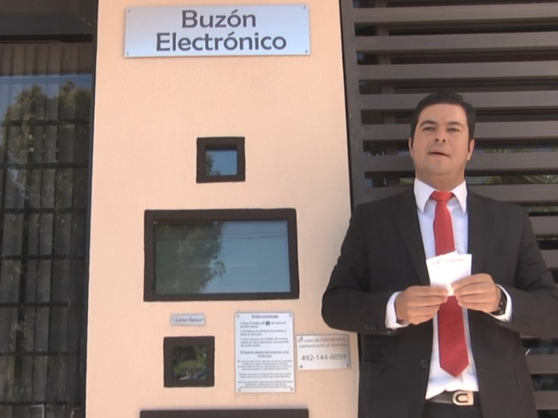 Inauguran Buzón Electrónico en el TJA