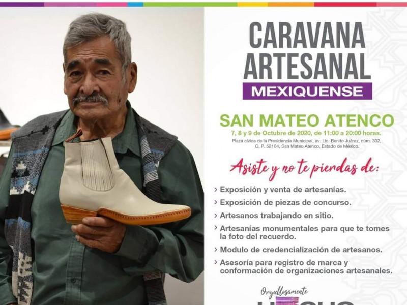 Inauguran Caravana Artesanal Mexiquense