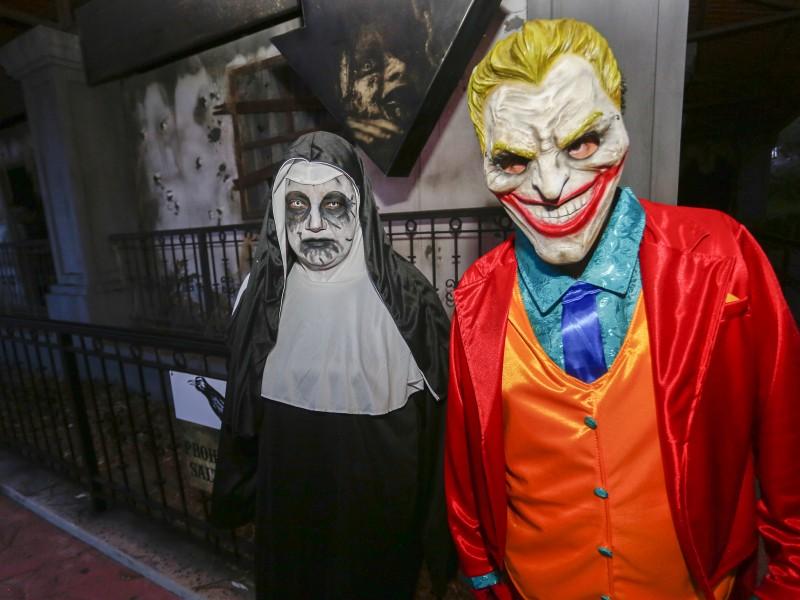 Inauguran casa del terror en Bicentenario