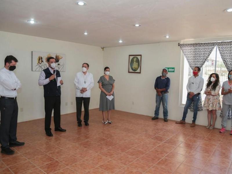 Inauguran centro de rehabilitación en el municipio de Morelos