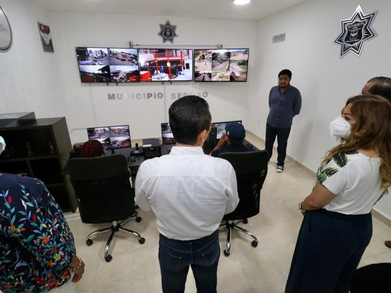 Inauguran Centro de Videovigilancia en Pichucalco