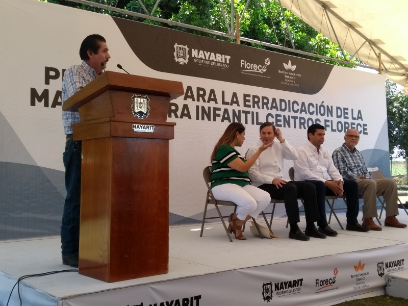 Inauguran centro infantil para hijos de jornaleros