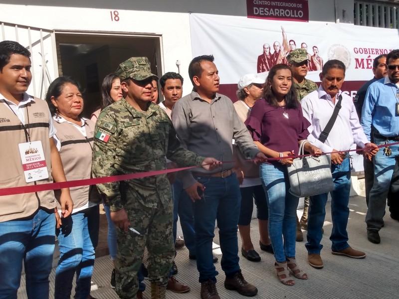 Inauguran centro integrador, para atender programas federales SalinaCruz