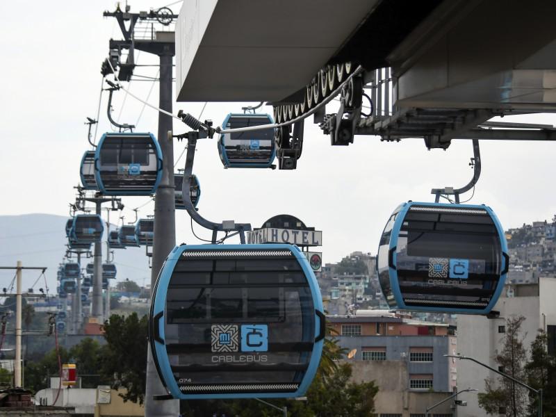 Inaugurán el cablebús línea 1