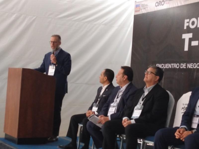 Inauguran en Querétaro expo T-MEC