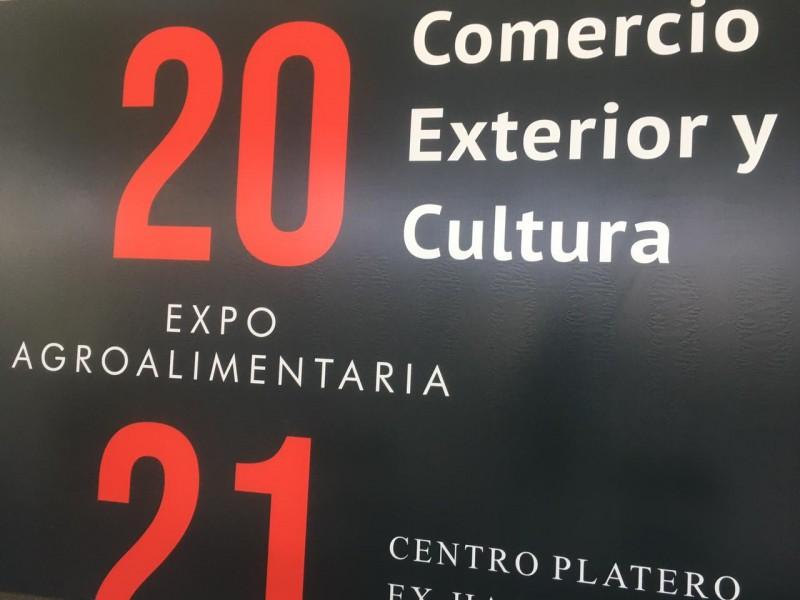 Inauguran expo agroalimentaria 2021 en Zacatecas.