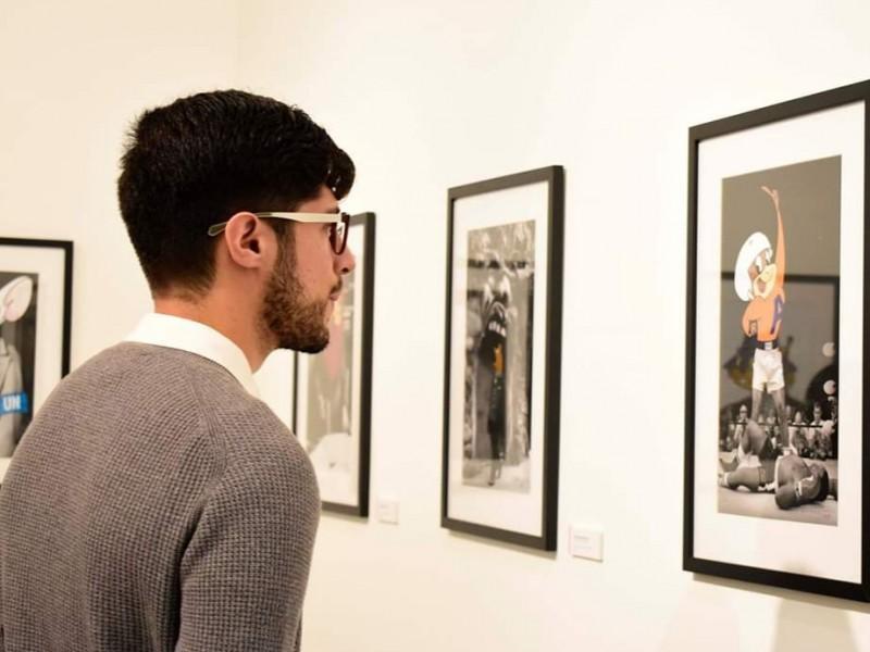 Inauguran exposición del artista gráfico Benito Cabañas