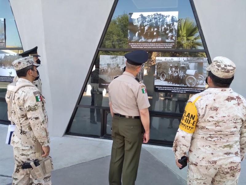 Inauguran exposición fotográfica del Ejército Mexicano
