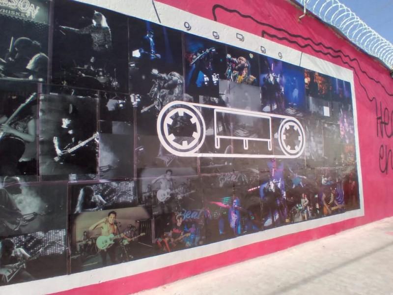 Inauguran foto-mural