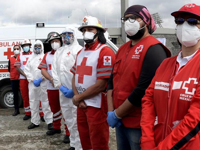Inauguran hospital de campo en Estadio Olímpico Universitario