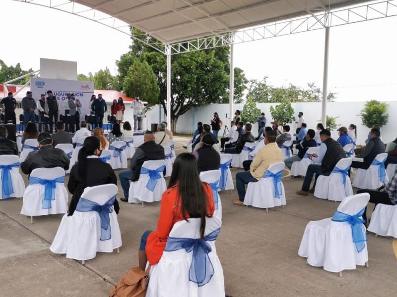 Inauguran instalaciones de COBAEM en Numarán