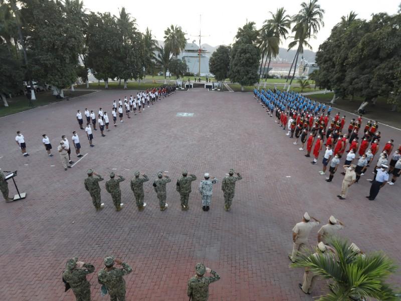 Inauguran juegos nacionales de la Armada de México