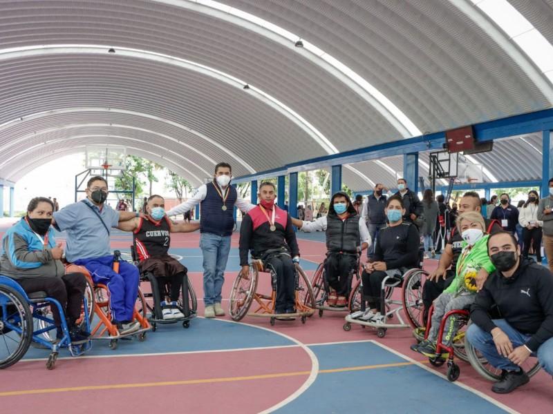 Inauguran Juegos Paradeportivos en Corregidora