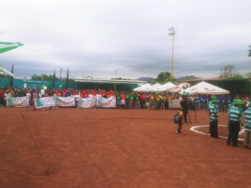 Inauguran Liga de Softbol Magisterial
