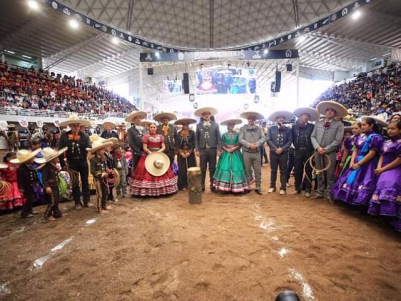 Inauguran LXXIV Congreso y Campeonato Charro