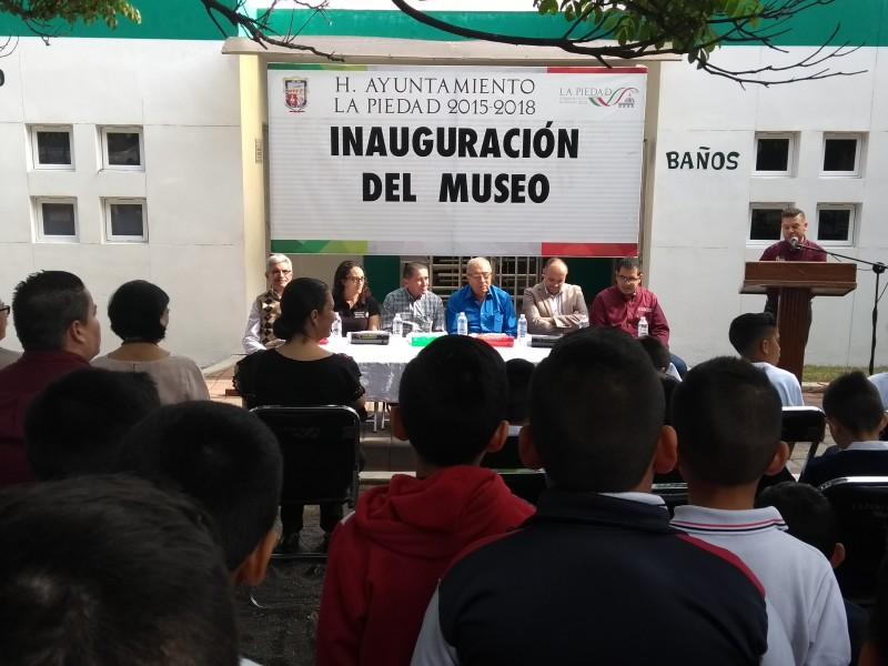 Inauguran museo de sitio en Zoo La Piedas