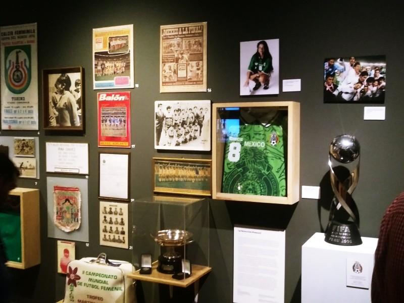 Inauguran museo del futbol