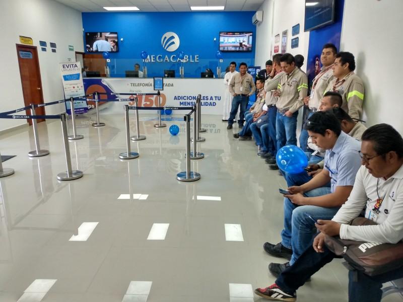 Inauguran nuevas instalaciones de Megacable en Juchitán