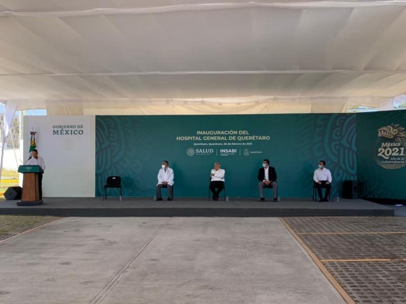 Inauguran Nuevo Hospital General en Querétaro
