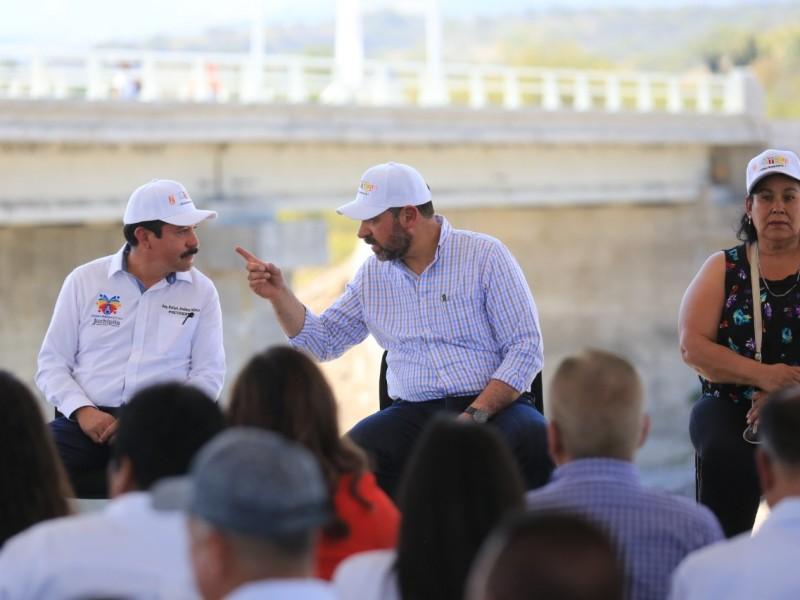 Inauguran obras en Juchipila