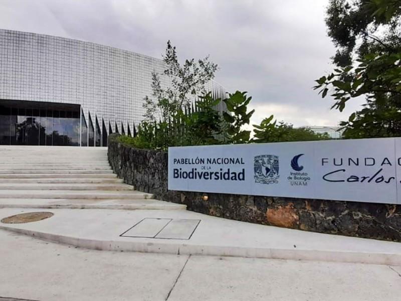 Inauguran Pabellón Nacional de la Biodiversidad en la UNAM