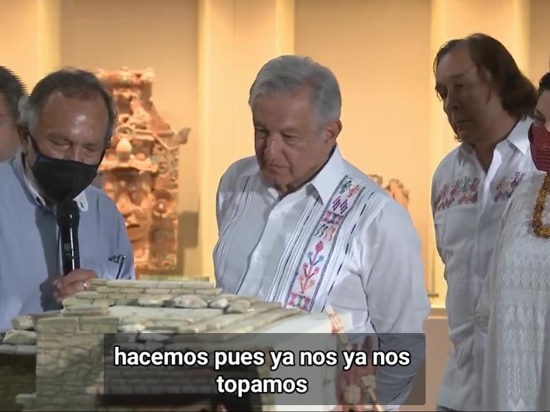 Inauguran pabellón Reina Roja en Palenque, Chiapas