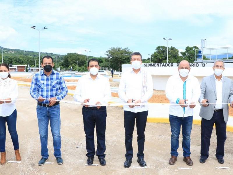 Inauguran primera etapa de PTAR en Chiapa de Corzo