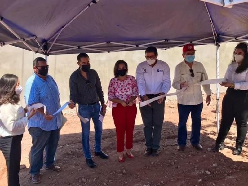 Inauguran primera etapa en la construcción de cisterna del ITG