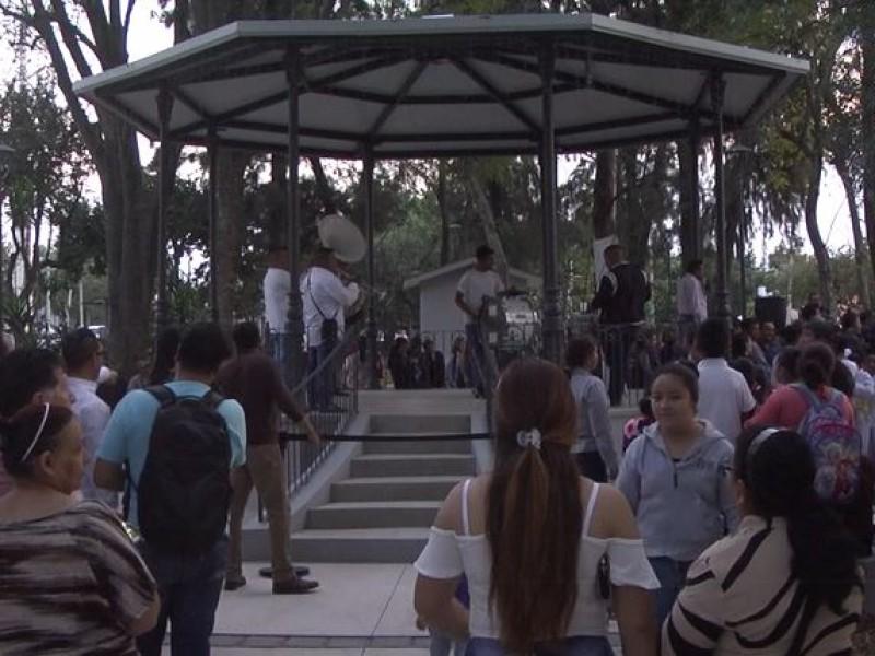 Inauguran renovación de parque en Huentitán el Alto