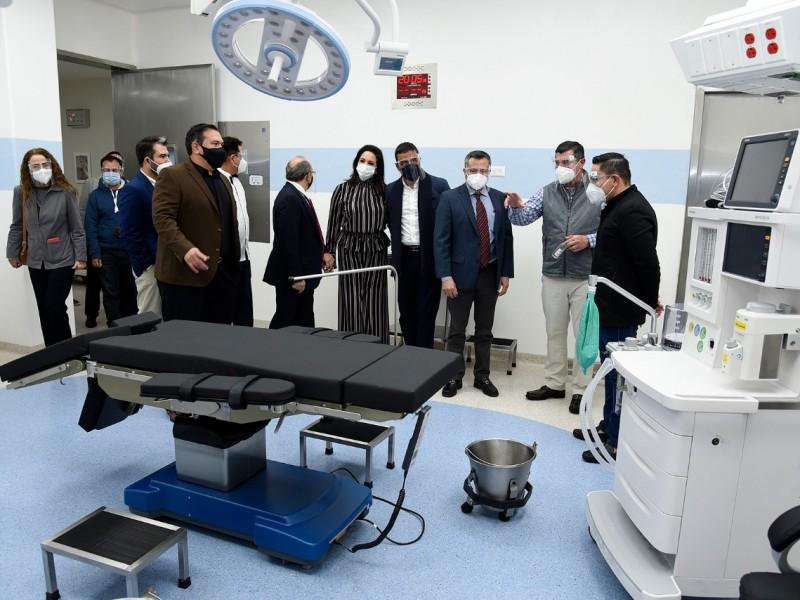Inauguran segunda planta del Centro Médico de LM