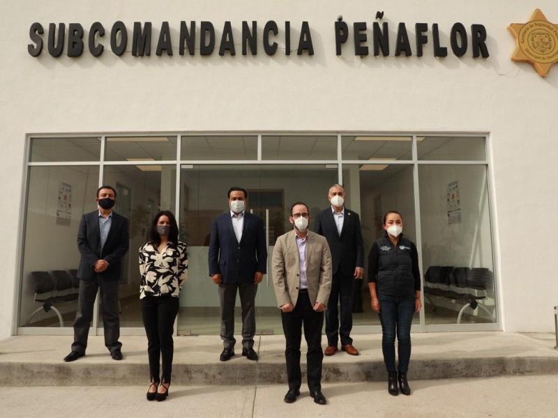Inauguran Subcomandancia Peñaflor en la Delegación Félix Osores