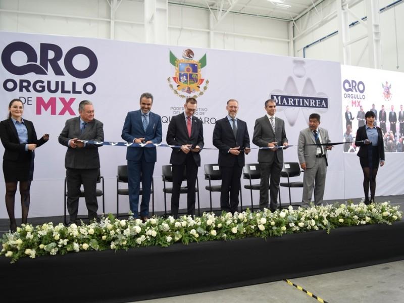 Inauguran tercera planta de Agility Tooling en Querétaro