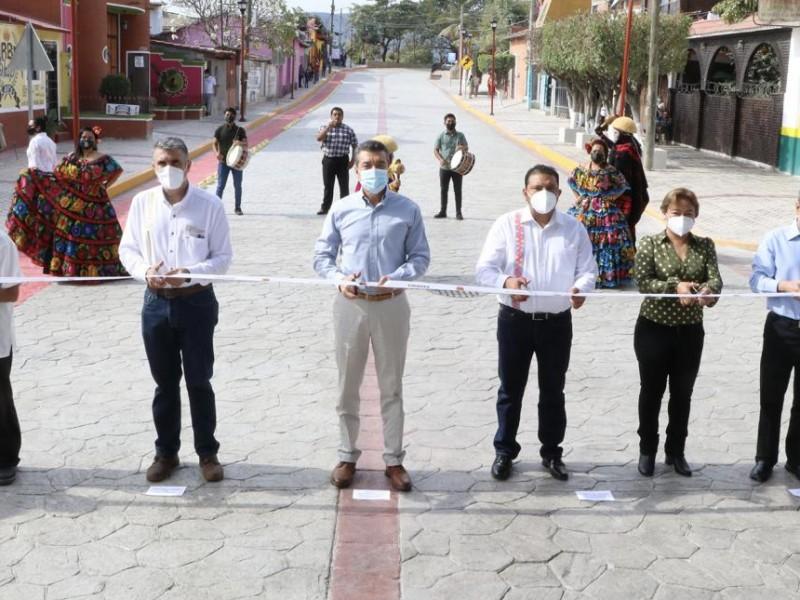 Inauguran vialidad principal en Chiapa de Corzo